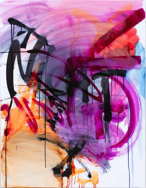 Thierry Furger, 'SCHRIFTENMALER 03', 2020, Painting, Ink and acid on white aluminium, KOLLY GALLERY