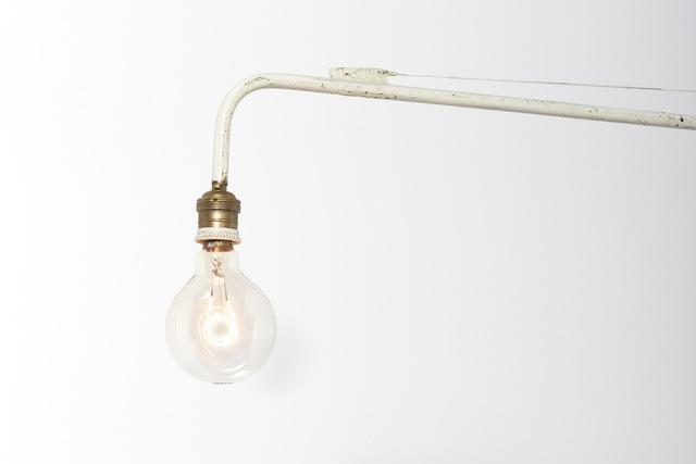 , 'Jean Prouvé Swing-jib lamp,' ca. 1950, Galerie Patrick Seguin