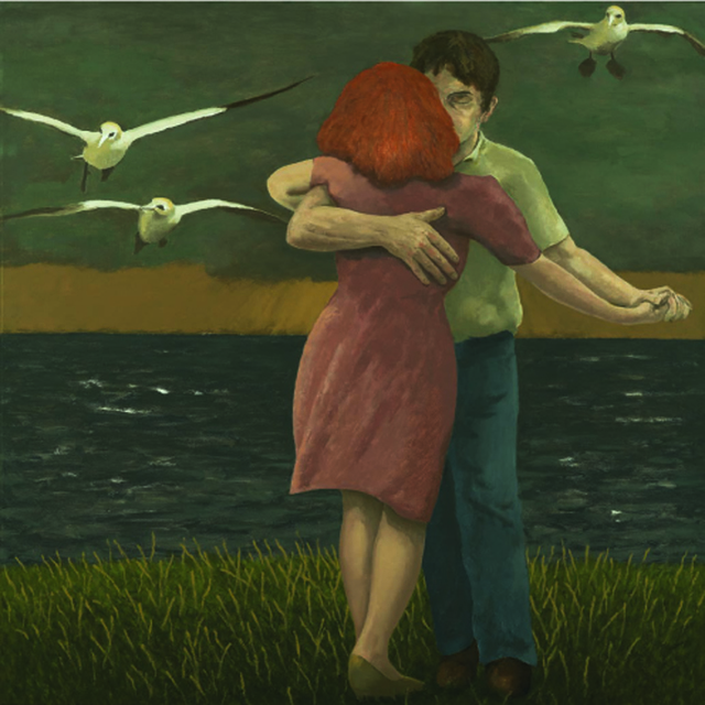 , 'Dancing Couple (with gannets),' 2011, Sladers Yard