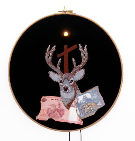 Art Orienté Objet, 'L'esprit du chasseur, Trop tard, Les écailles me tombèrent des yeux', 2014, Galerie Les filles du calvaire