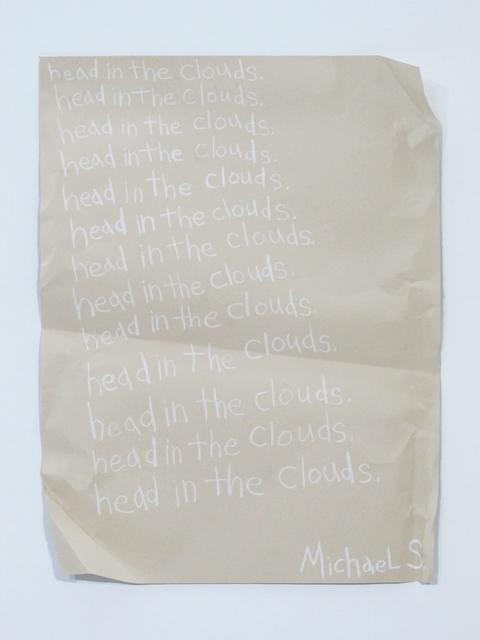 , 'Head in the Clouds,' 2014, Wasserman Projects