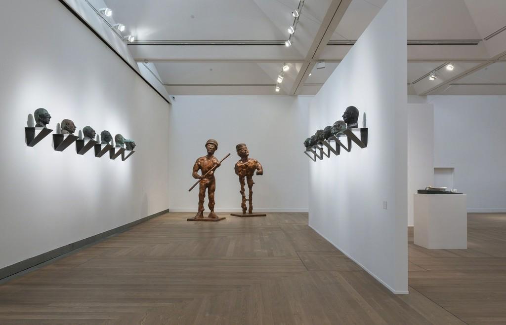 Thomas Schütte, Installationsvy Thomas Schütte: United Enemies på Moderna Museet Stockholm 2016-2017, 2016 Photo: Åsa Lundén/Moderna Museet © Thomas Schütte
