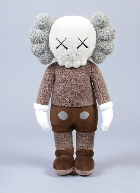 KAWS, 'KAWS brown Plush Companion ', 2019, Lot 180