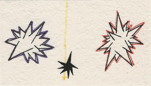 , 'Tarjeta de felicitación,' 1974, Galería La Caja Negra