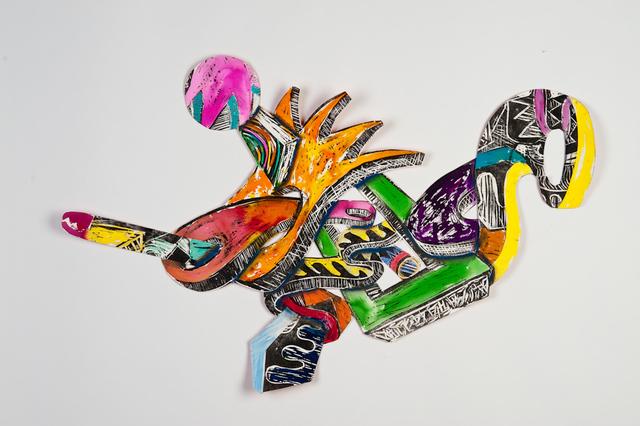 , 'Zig Zag Dreams I,' 2009, Marta Hewett Gallery