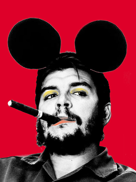, 'I Went To Disneyland And All I Got Was Cigar (Che Red),' 2016, Imitate Modern