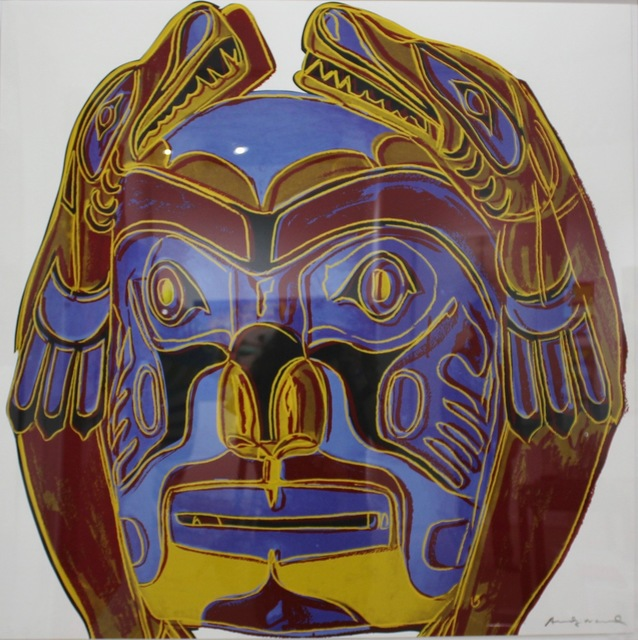 Andy Warhol, 'Northwest Coast Mask (FS II. 380)', 1986, Elizabeth Clement Fine Art