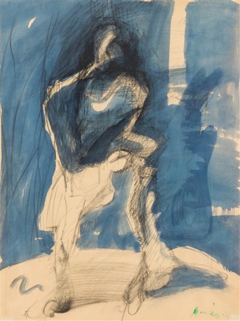 , 'Schritt in den Schatten,' 1985, Gallery AM MEER