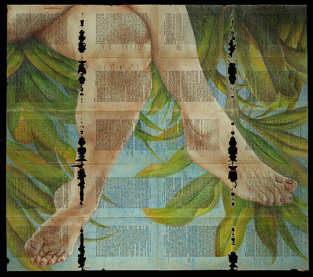 , 'Pernas e palmeiras Brasileiras,' 2017, Gallery 38