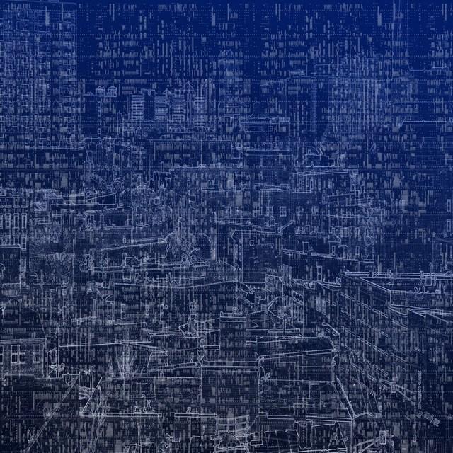 , 'MetroCryptogram 3,' 2014, GALERÍA ETHRA