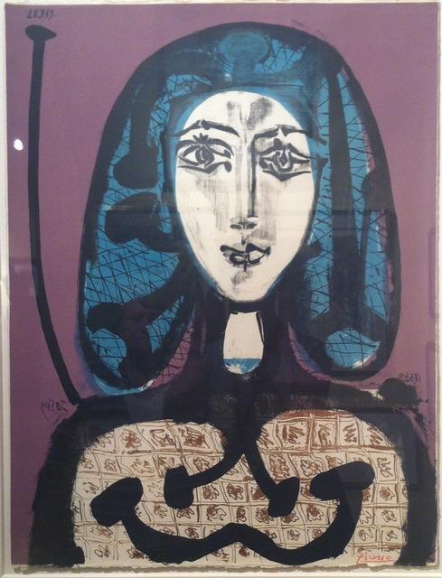 , 'La femme a la fesille, femme aux cheveux verts,' 1949, Ruth Ziegler Fine Arts Ltd.