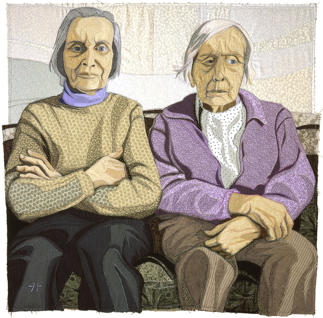 , 'Sisters, Sitting,' 2004, Mitchell • Giddings Fine Arts