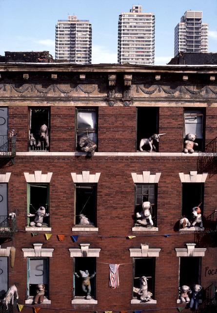 , 'Dolls in an abondoned building, Spanish Harlem, NY,' 1987, Hardhitta Gallery