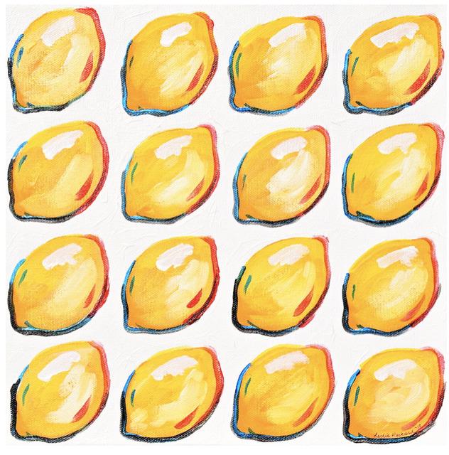 Leslie Hackard, '16 Marching Lemons', Tim Collom Gallery