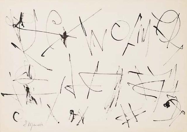 , 'Untitled (Calligraphic 2),' 1990-1992, Aicon Gallery