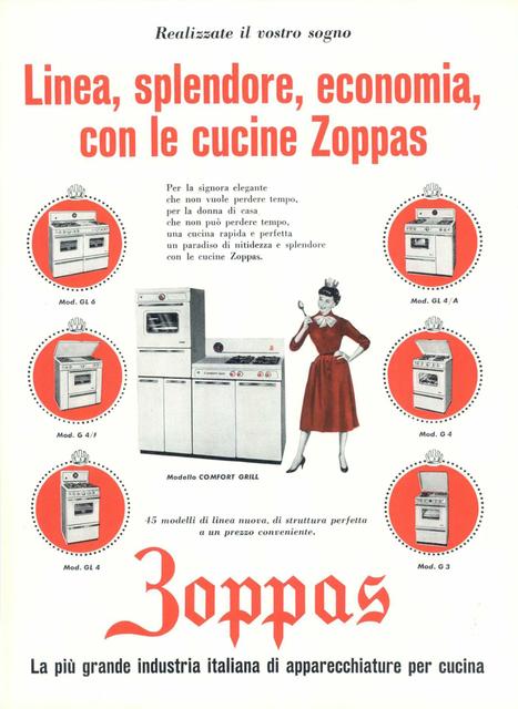 , 'Pubblicità Zoppas,' 1959, Triennale Design Museum