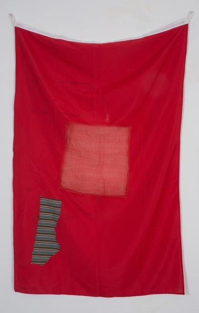 , 'Red Banner,' 2014, Nathalie Karg Gallery