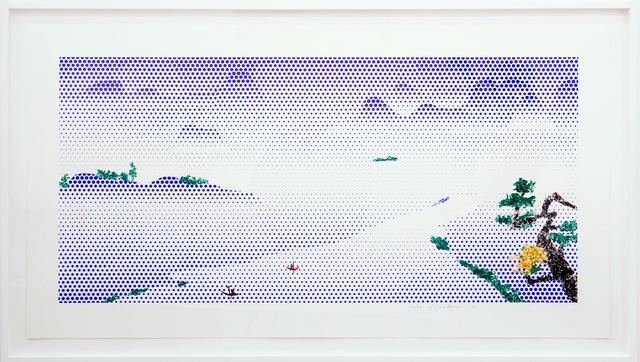, 'Landscape with Boats,' 1996, Gemini G.E.L.