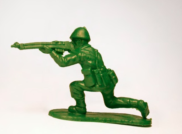 , 'Toy Soldier #5 (Kneeling Position),' 2015, Mark Moore Fine Art