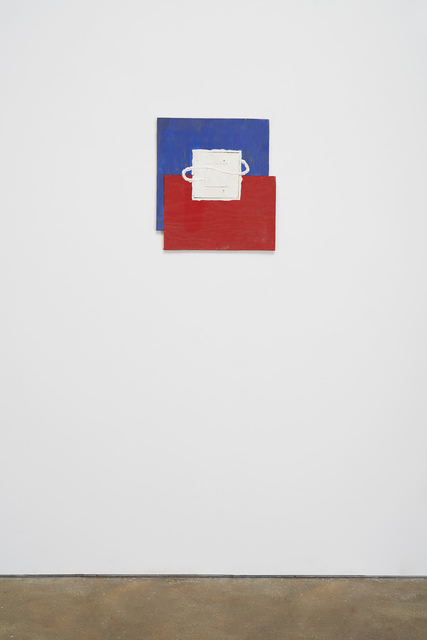 , 'Blue/Red (white 1),' 2002, M WOODS