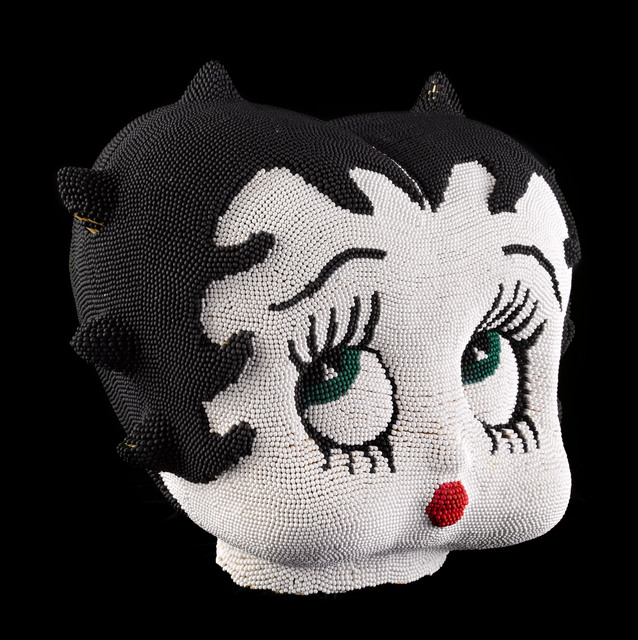 David Mach, 'White Betty Boop Head', 2012, Opera Gallery