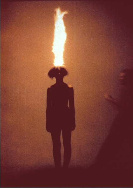 , 'Artist as combustible,' 1986, Barbara Gross