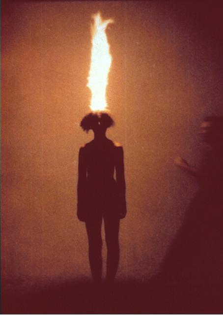 , 'Artist as combustible,' 1986, Barbara Gross