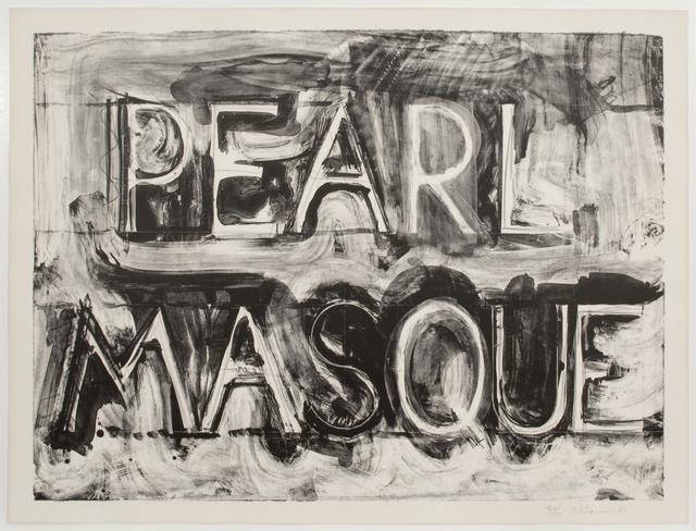, 'Pearl Masque,' 1981, Art Bärtschi & Cie   Geneva, Switzerland
