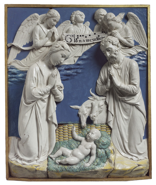 , 'Nativity with Gloria in Excelsis ,' 1465-1470, Museum of Fine Arts, Boston
