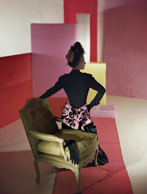 , 'Suit and Headdress by Schiaparelli,' 1947, Robert Klein Gallery