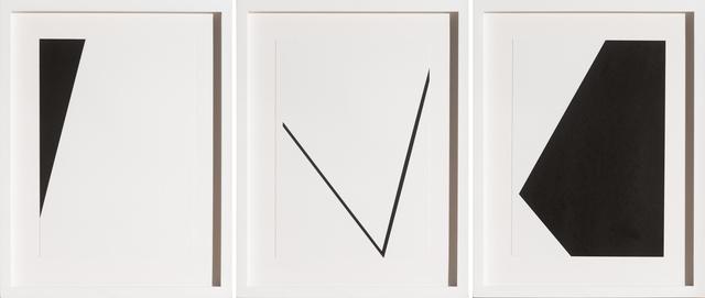 , 'Untitled 5 (triptych),' 2015, Bentley Gallery