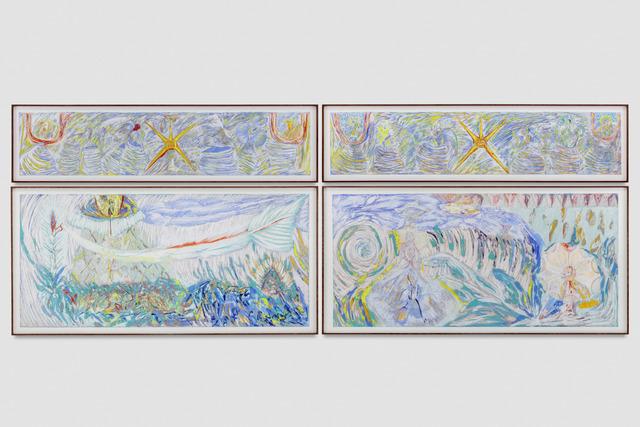 , 'Sensus Oxynation (Apocalyptic Flood Landscape),' 2017, Blum & Poe