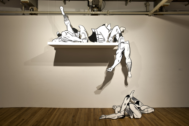 , 'Superman Body Parts,' 2010, MASS MoCA
