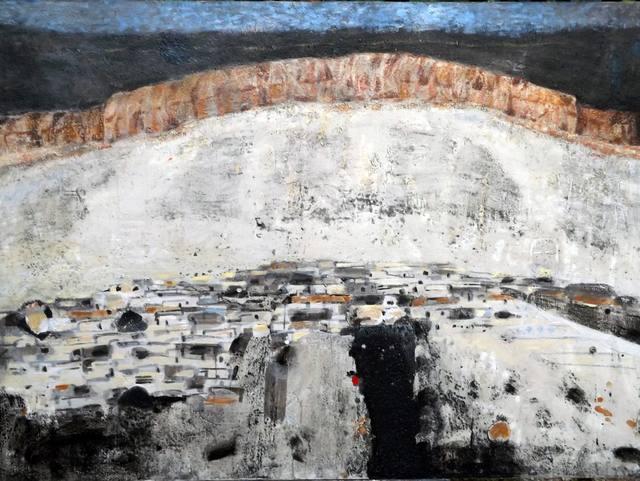 Nizar Sabour, 'AL QALAMOUN', 2015, Painting, MIXED MEDIA ON CANVAS, Mark Hachem Gallery