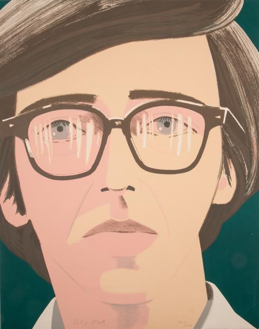 Alex Katz, 'Portrait of a Poet: Kenneth Koch', 1970, Marlborough