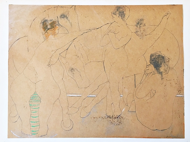 Stanley Boxer, 'Bathers', 1967, Alpha 137 Gallery