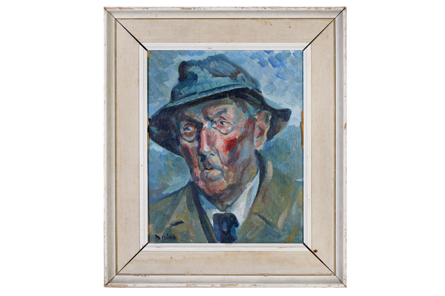 Ronald Ossory Dunlop, 'Portrait of a man', Painting, Oil on canvas board, Chiswick Auctions