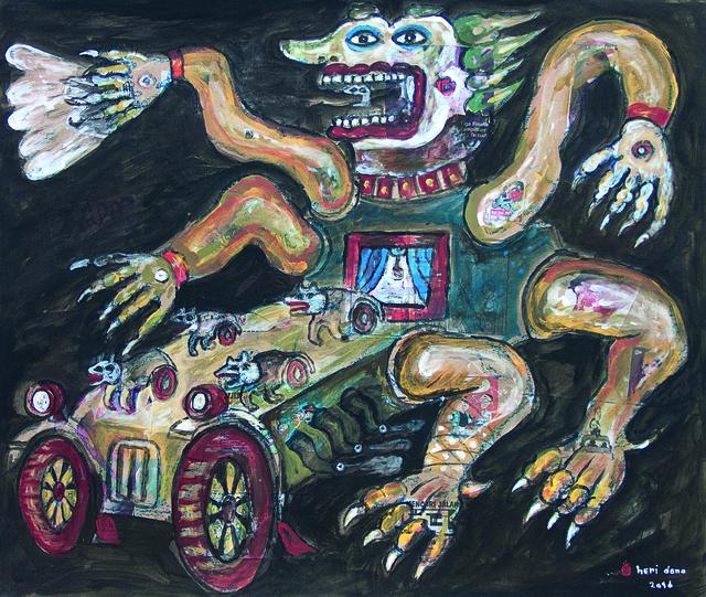 Heri Dono, 'Run Away from the Bad Body', 2016, Mizuma Art Gallery