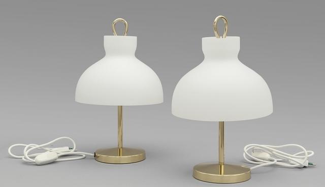 Ignazio Gardella, 'Two table lamps 'Arenzano' for AZUCENA', 1956, Aste Boetto