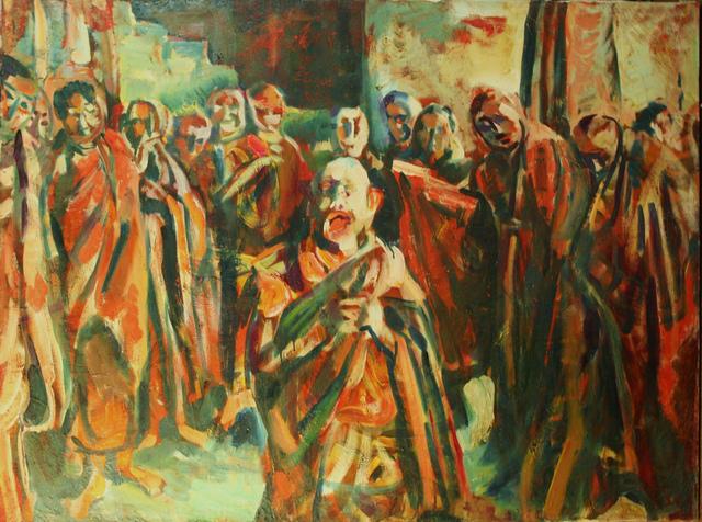 Pei Zhuangxin, 'Scream 呐喊', 1984, W.Ming Art