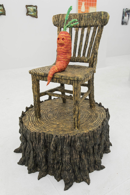 , 'King Carrot,' 2010, The Hole