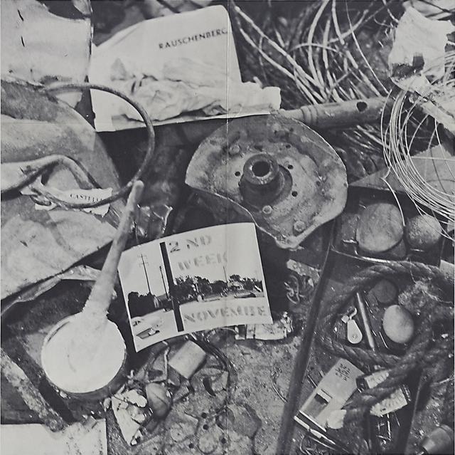 Robert Rauschenberg, '(Robert) Rauschenberg: 2nd Week November', 1961, Rago