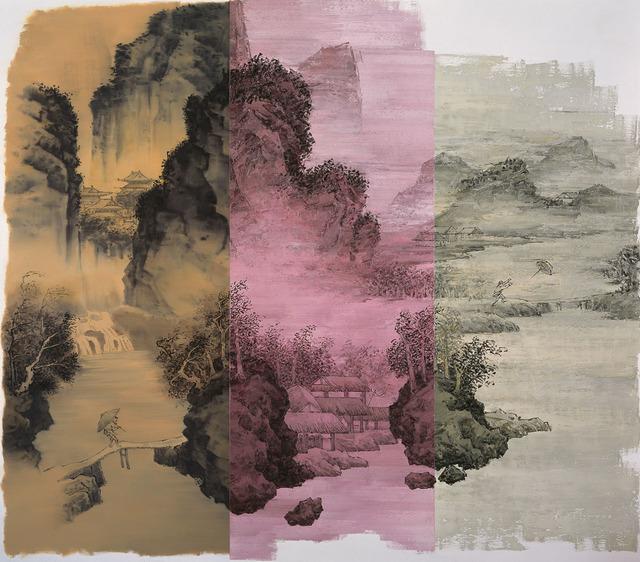 , 'Walking in the Wind and Rain,' 2015, Longmen Art Projects