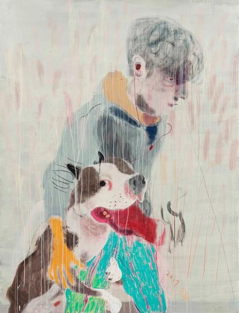 , 'Young Man with a Dog,' 2018, Tang Contemporary Art