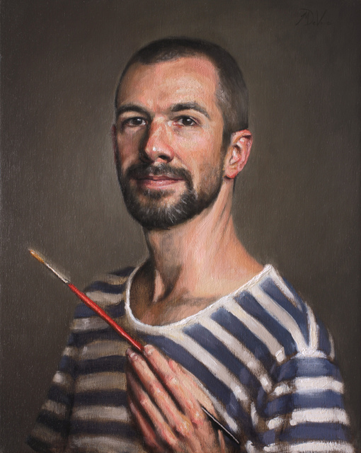 , 'Self Portrait with Red Brush,' , Gallery 1261