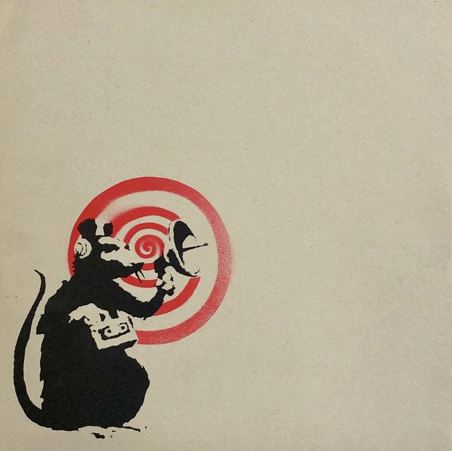 Banksy, 'Banksy vinyl record art 2008 (Banksy Radar Rat) ', 2008, Lot 180