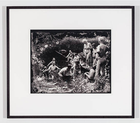 , 'Recovered Gelatin Dry Plates (Unknown American Nudist Colony no8.),' 1935-2012, The Apartment
