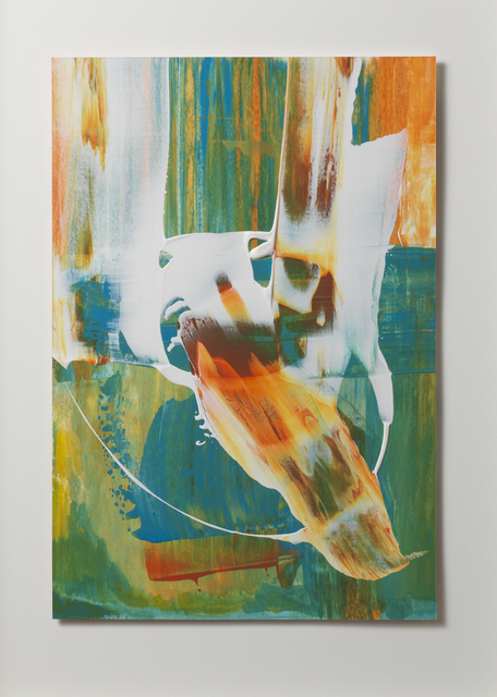 , 'Orange, Blue, White III,' 2016, Gallery Elena Shchukina