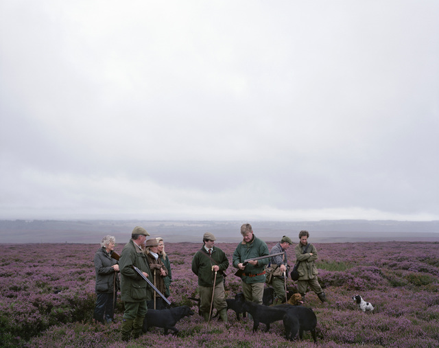 , 'Grouse shoot, Hutton-le-Hole, North Yorkshire,' 2008, Flowers