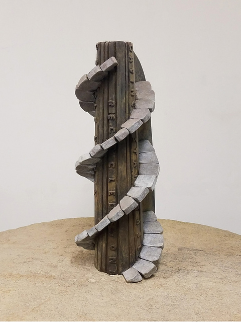 , 'DNA Tower,' 2014, Nancy Hoffman Gallery